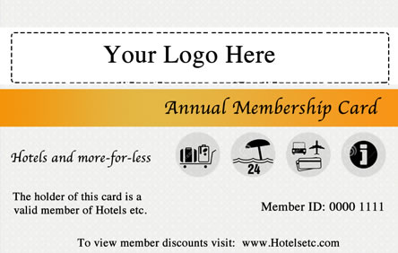 Your logo on a cobranded card