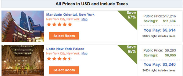 Hotel Discounts New York City